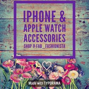 IPHONE & APPLE WATCH ACCESSORIES